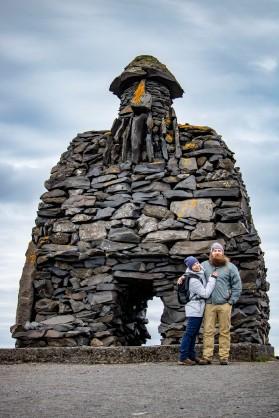 snæfellsness arnarstapi fishers monument zack and kess