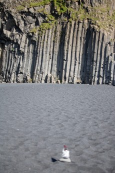 Columns beach tomte